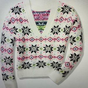 Pink Reversible Sweater
